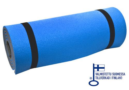50 x 190/12 mm laminoitu makuualusta sininen / harmaa