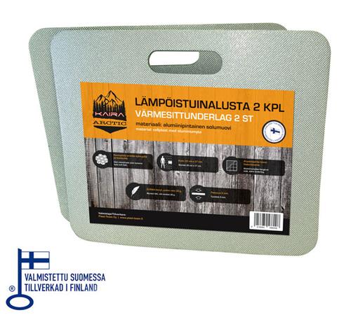 KAIRA ARCTIC LÄMPÖISTUINALUSTA 2 KPL